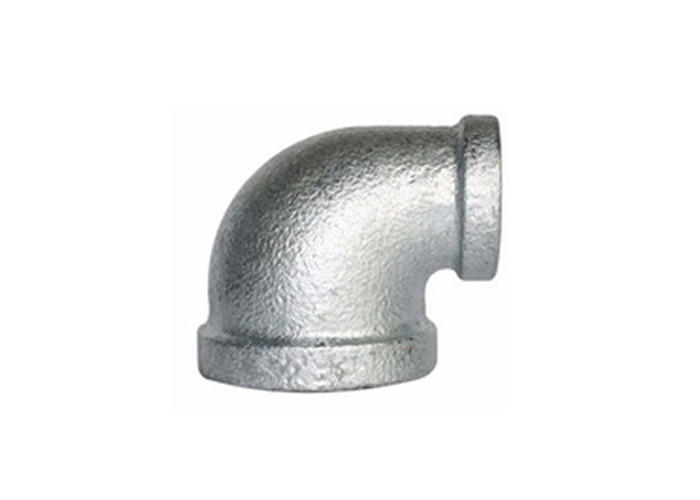 Customizable Malleable Iron Elbow Pipe Adapter Fittings 40mm / 42mm