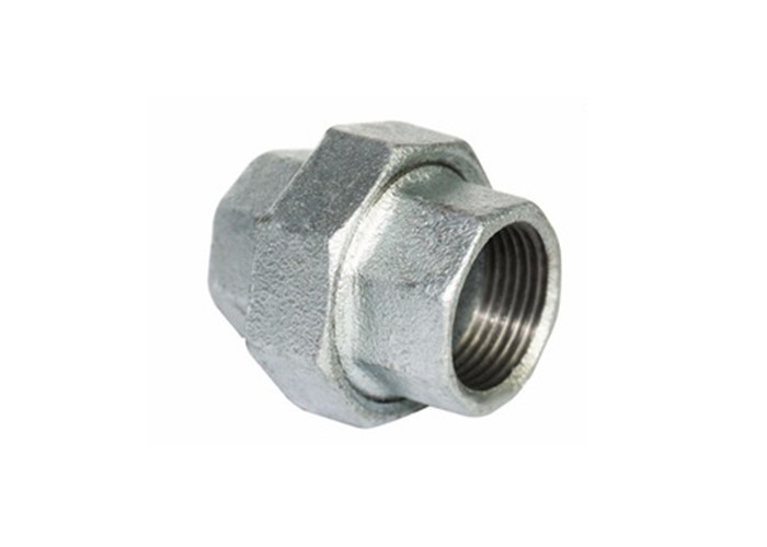 En 10242 Plumbing Pipe Fittings , 3 4 Pipe Union Threaded Pipe Coupler Wearable